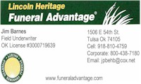 Lincoln Heritage Funeral Advantage